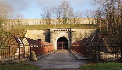 Du fort de Bron au fort de St Priest